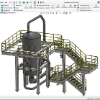 3D CAD-Lösung für den Stahlbau (100% integriert in SOLIDWORKS)
