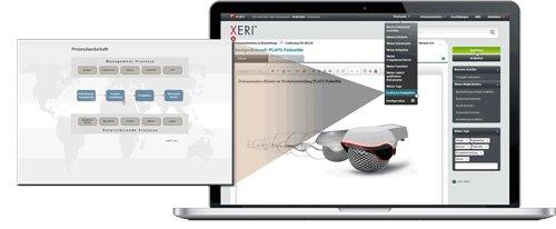 2. Produktbild PLATO XERI - Dokumentenlenkungssystem
