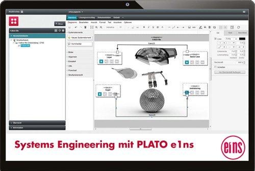 1. Produktbild PLATO e1ns - Das Engineering Framework