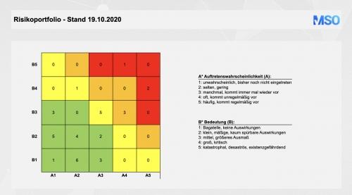 FMEA-Risikoportfolio