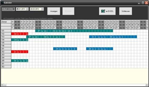 1. Produktbild Prisma Hotel - Reservierungssoftware