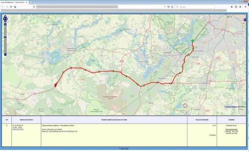Kartenansicht GPS Version
