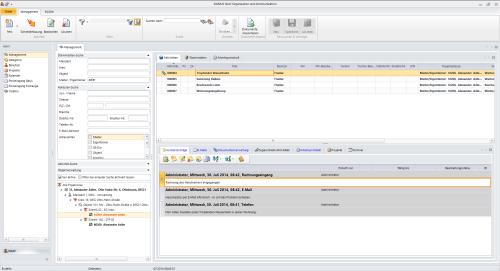 2. Produktbild  DOMUS NAVI - Organisations- & Kommunikationssoftware