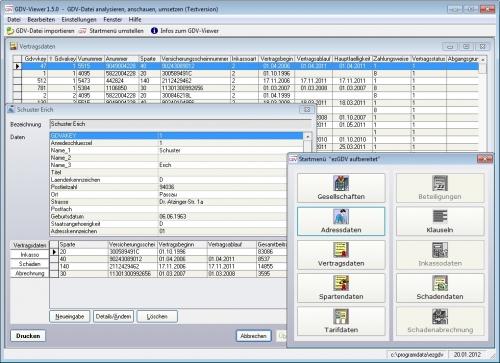 Screenshot ezGDV