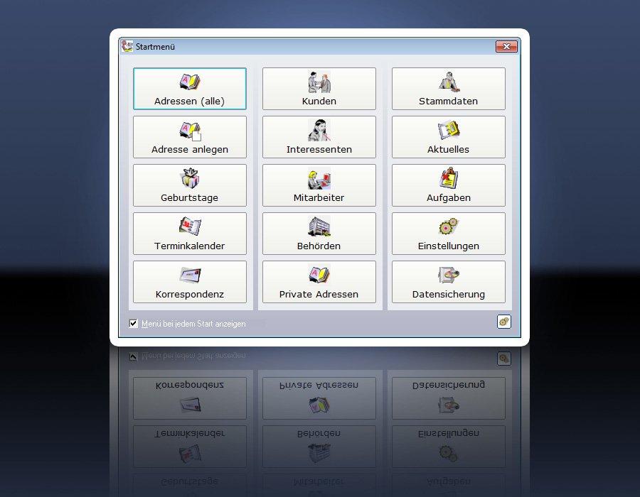 2. Produktbild ezContact - CRM-Software