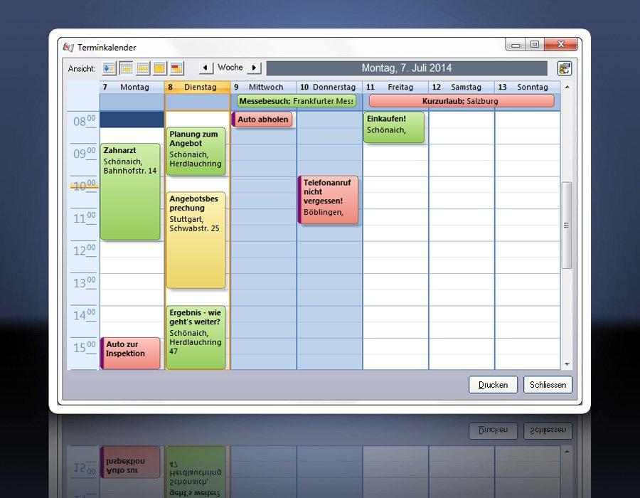 3. Produktbild ezContact - CRM-Software