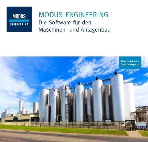 MODUS PLASTICS integriert in MODUS ENGINEERING, Produktbroschüre MODUS Consult AG