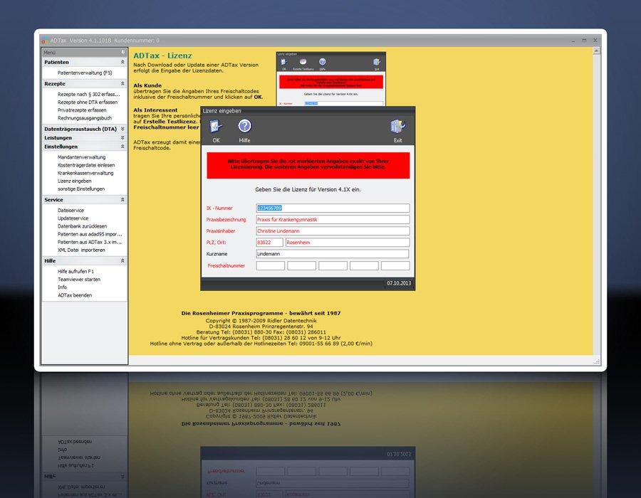 6. Produktbild ADTax §302-Kassenabrechnung und Privatrechnung