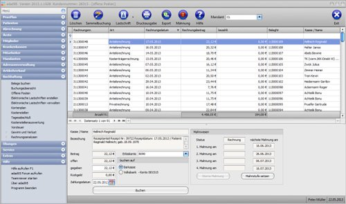 adad95 - Die Buchhaltung mit DATEV Kontenplan und Kostenstellenauswertung.