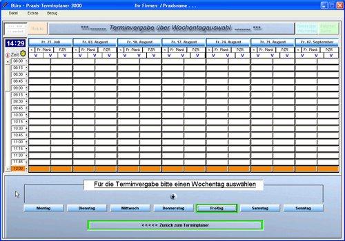 6. Produktbild Büro & Praxis Terminplaner 3000
