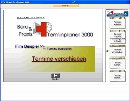 9. Produktbild Büro & Praxis Terminplaner 3000