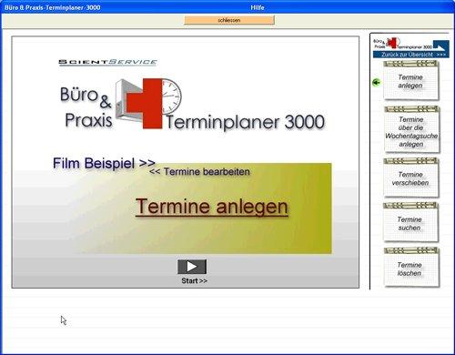 10. Produktbild Büro & Praxis Terminplaner 3000