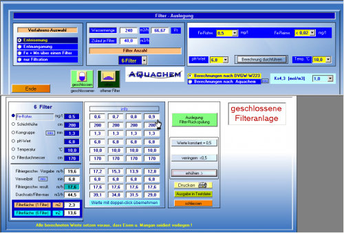 7. Produktbild Aquachem - Enteisenung, Entmanganung