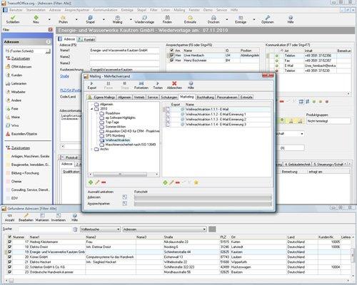 10. Produktbild Kundenbeziehungsmanagement - Treesoft CRM