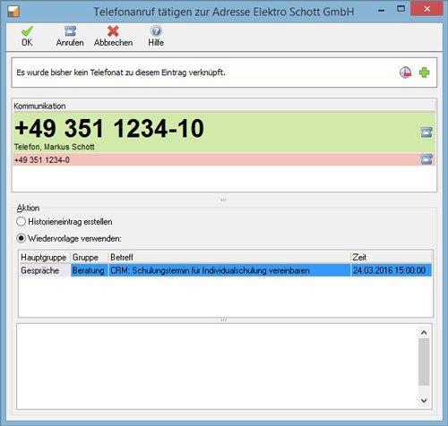2. Produktbild Kundenbeziehungsmanagement - Treesoft CRM