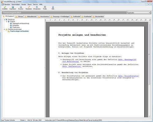 8. Produktbild Kundenbeziehungsmanagement - Treesoft CRM