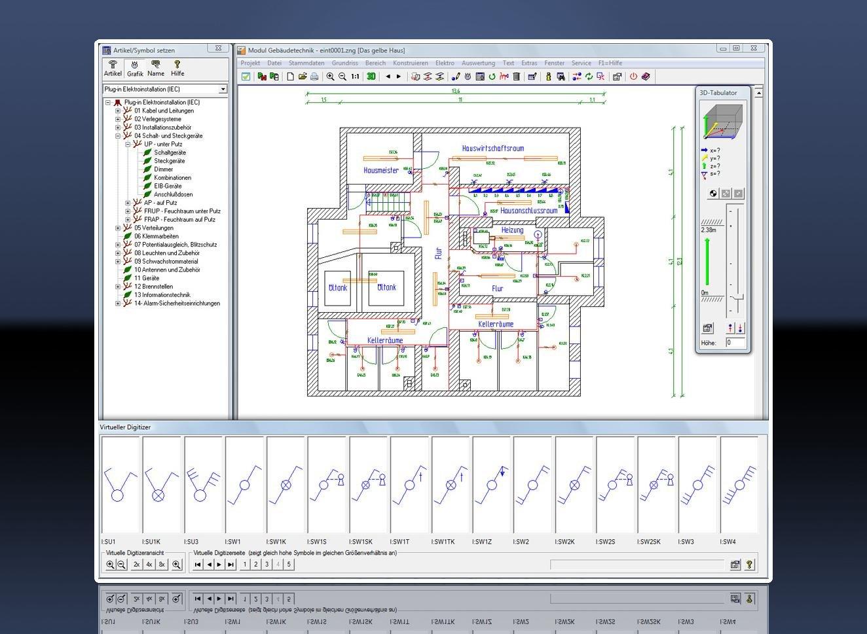 Elektro-CAD - Treesoft CAD - Stromlaufplan Elektroplanung