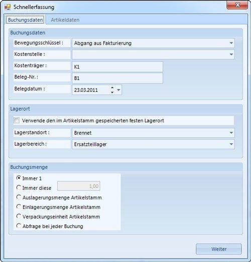 3. Produktbild HDA Lagerbestandsführung und Lagerplatzverwaltung