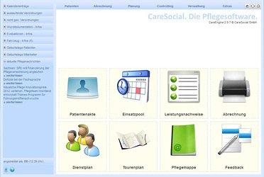 1. Produktbild CareSocial GmbH - Software für ambulante Pflegedienste