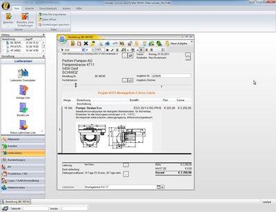 2. Produktbild Ulysses ERP - Software für die Fertigungsindustrie