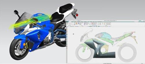 1. Produktbild NX -  Softwaresuite zur Produktentwicklung und -fertigung