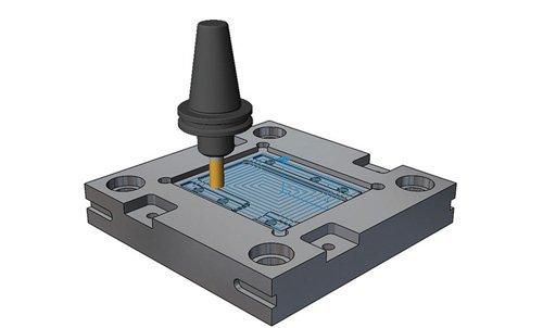4. Produktbild CAMWorks -  CNC-Bearbeitung