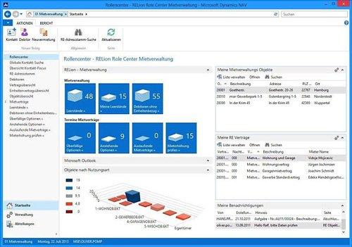 1. Produktbild RELion -  Software für die Immobilienverwaltung