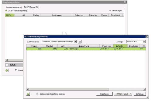 2. Produktbild UniPRO/DATEV-Schnittstelle für Microsoft Dynamics CRM