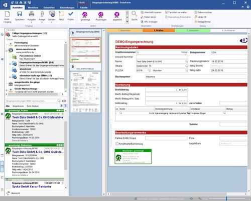1. Produktbild ExsoForm - Entwicklungsumgebung für Geschäftsprozesse