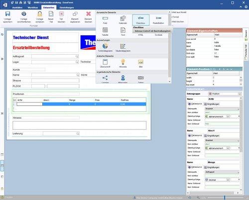 2. Produktbild ExsoForm - Entwicklungsumgebung für Geschäftsprozesse