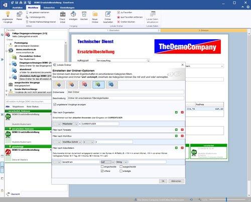 3. Produktbild ExsoForm - Entwicklungsumgebung für Geschäftsprozesse