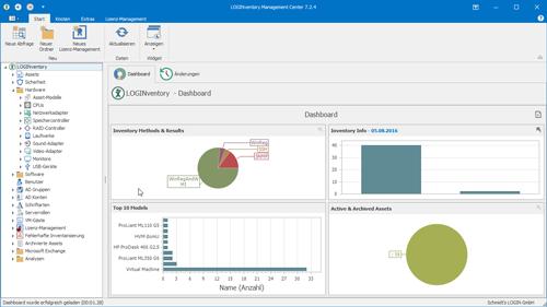 LOGINventory - Netzwerk-Inventarisierung und Lizenzmanagement