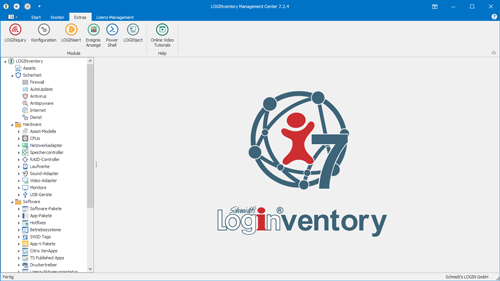 LOGINventory Management Center (LMC)
