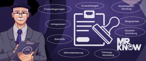 MR.KNOW - PUBLIC ASSISTANT - Bereiche