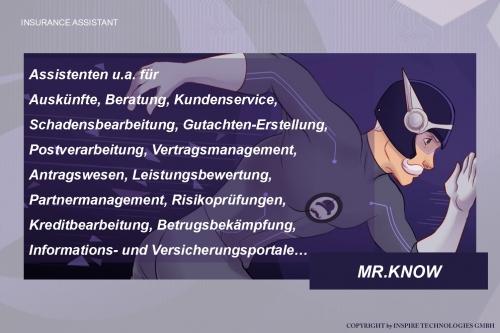 MR.KNOW - INSURANCE ASSISTANT - Übersicht