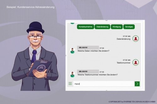 MR.KNOW - INSURANCE ASSISTANT - Digitale Assistenten
