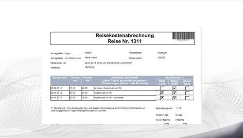 2. Produktbild Reisekostenabrechnung