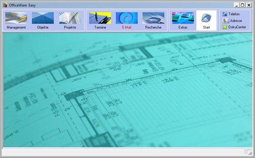 1. Produktbild OfficeWare Easy IMMO – das Standard-Objektmanagement