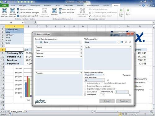 Arbeitsumgebung Excel®