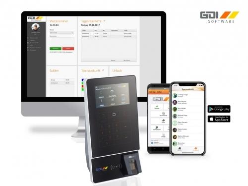 Zeiterfassung - einfach und rechtssicher. Stationär, per Browseranwendung oder per Mobile App.