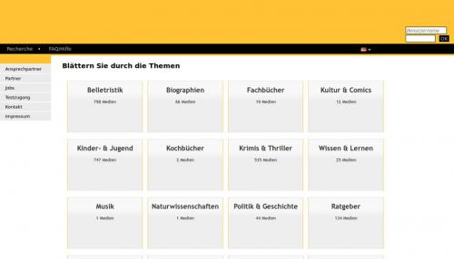 1. Produktbild Libreja - Bibliothekssoftware