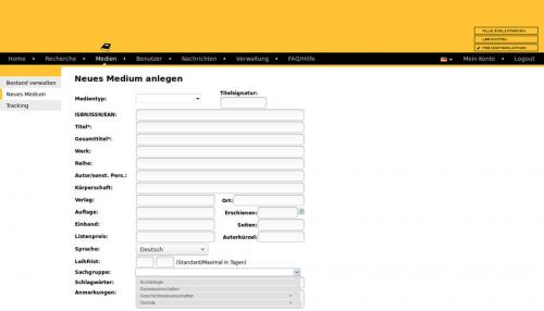 5. Produktbild Libreja - Bibliothekssoftware