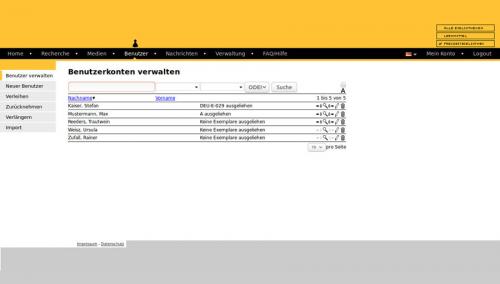 6. Produktbild Libreja - Bibliothekssoftware