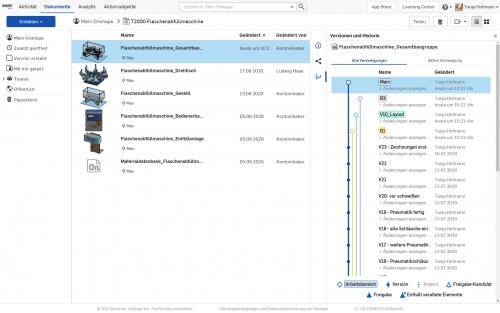 Datenmanagement mit Onshape