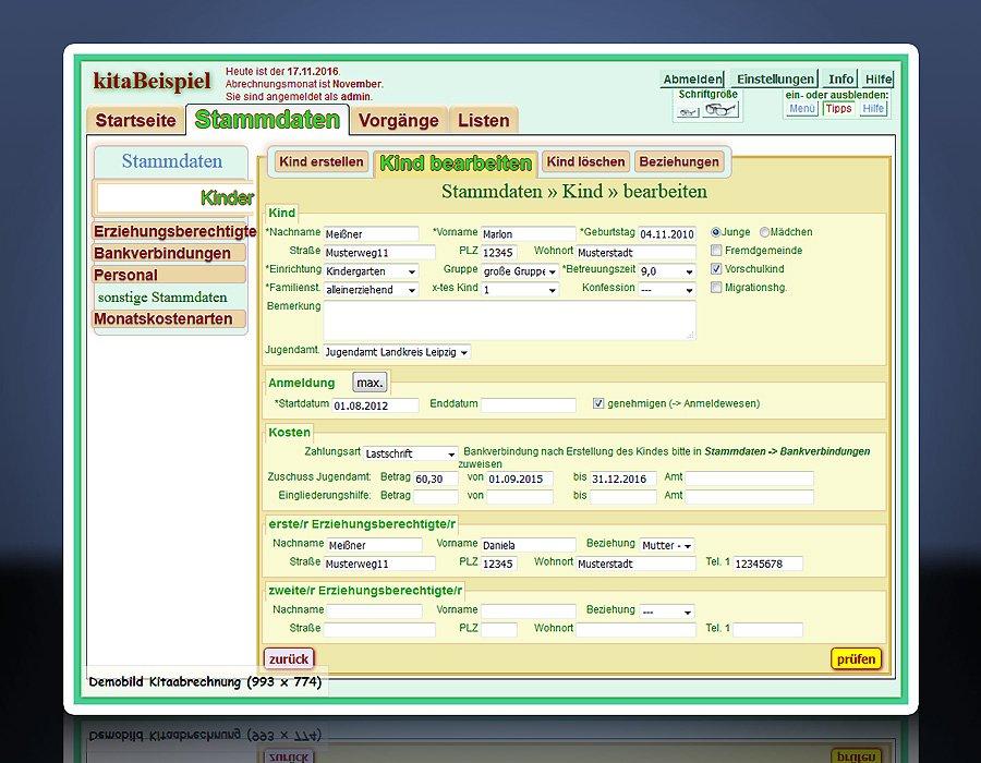 Software: Kita Abrechnung - Hort