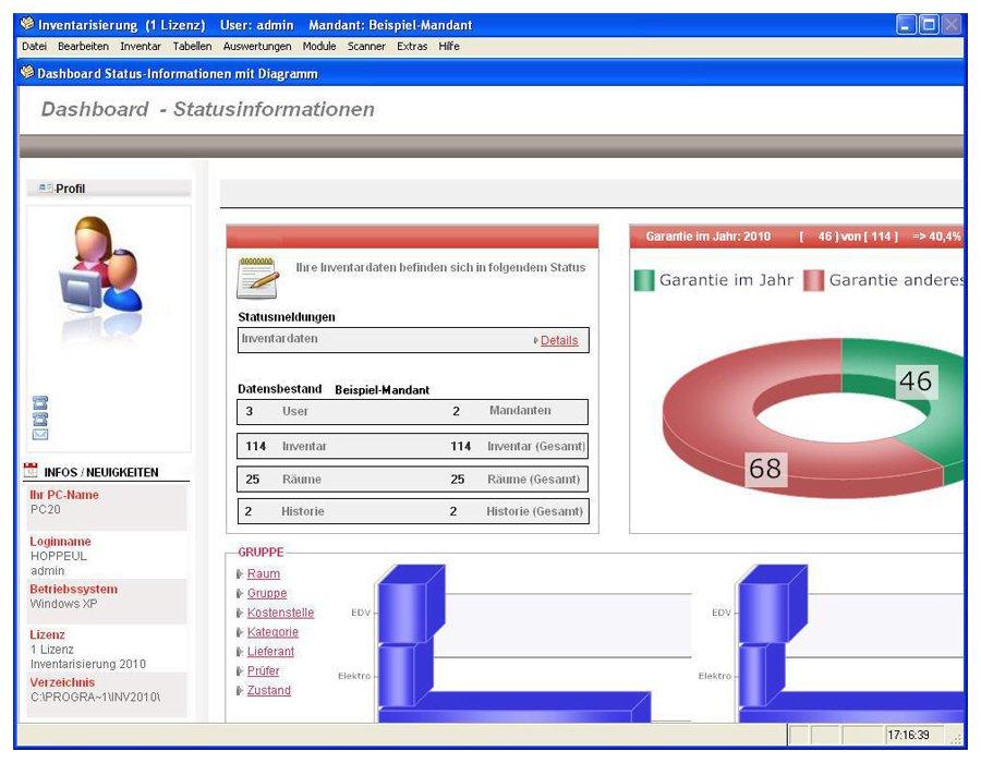 2. Produktbild Inventarsoftware für Barcode Inventur-Etiketten