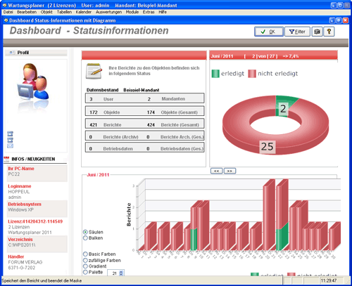 6. Produktbild Wartungsplaner BGV Prüffristenmanagement Instandhaltungssoftware
