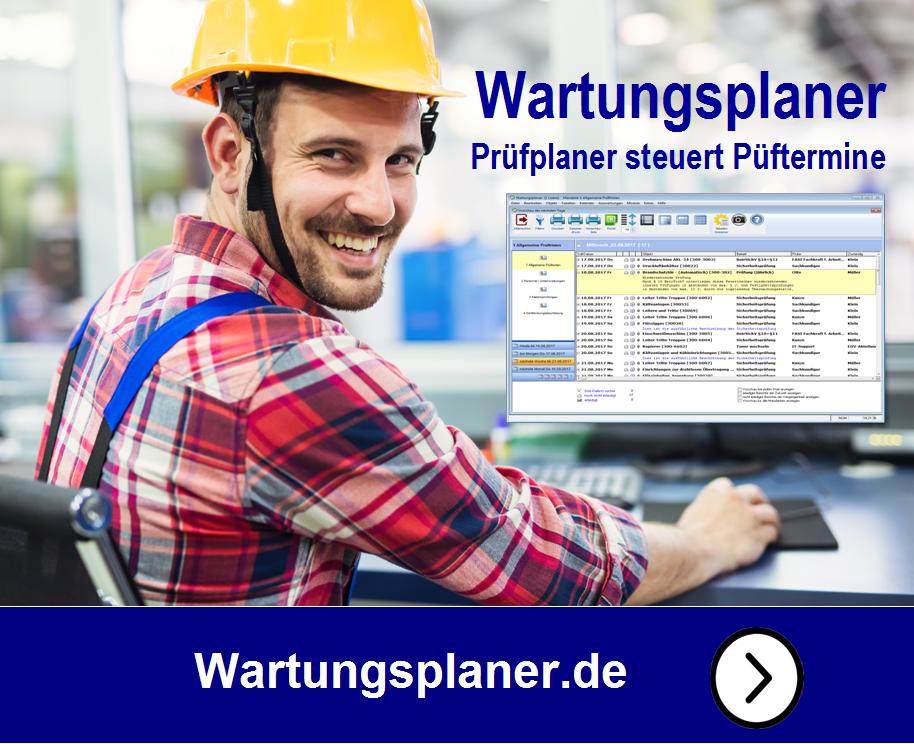 Produktbild Wartungsplaner  Instandhaltungssoftware