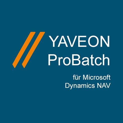 1. Produktbild YAVEON ProBatch [Chemie, Pharma, Lebensmittel, u.a. | ERP]