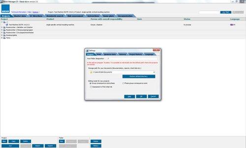 1. Produktbild WEKA Manager CE - für CE-Prozess nach Maschinenrichtlinie 2006/42/EG